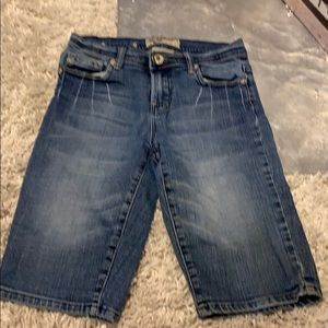 🇺🇸Vigoss little girls size 12 denim longershorts